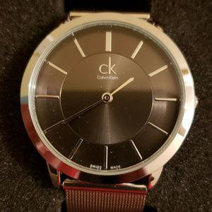 Calvin Klein Minimal Silver Stainless Steel Watch